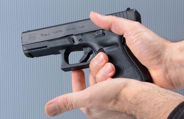 FOTO Scaricare-pistola-semiauto-arma-carica